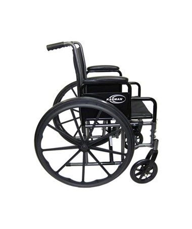 Karman Lightweight Detachable Arms Wheelchair Side View
