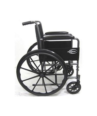 Karman Lightweight Fixed-Arm Wheelchair Side View