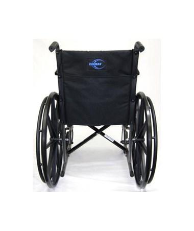 Karman Lightweight Fixed-Arm Wheelchair Rear View
