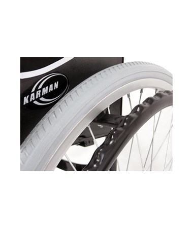 Karman Ultra Lightweight Wheelchair - Wheel and Grip