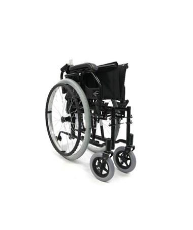 Karman Ultra Lightweight Adjustable Wheelchair - Folded, Side