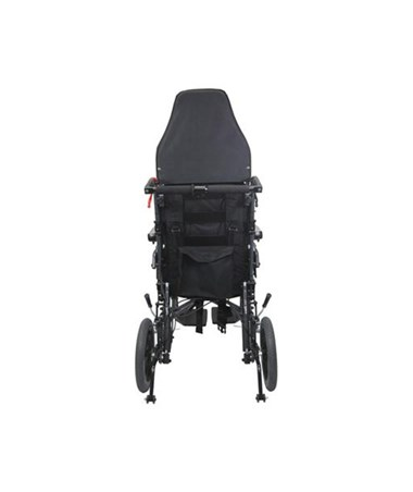 Karman Ergonomic Ultra Light Weight Transporting Recliner - Folded