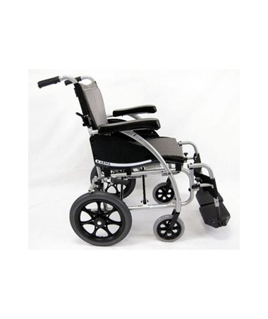 Karman S-Ergo Transport Wheelchair with Swing In & Away Footrests