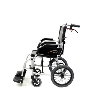 Karman S-Ergo Flight Transport Wheelchair - Side View