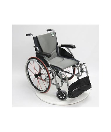S-Ergo Ultralightweight Wheelchair with Swing In & Away Footrests KARS-Ergo115F16SS-
