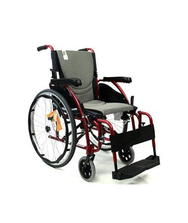 S-Ergo Ultralightweight Wheelchair with Flip-Back Armrests and Swing Away Footrests S-Ergo125F16RS-