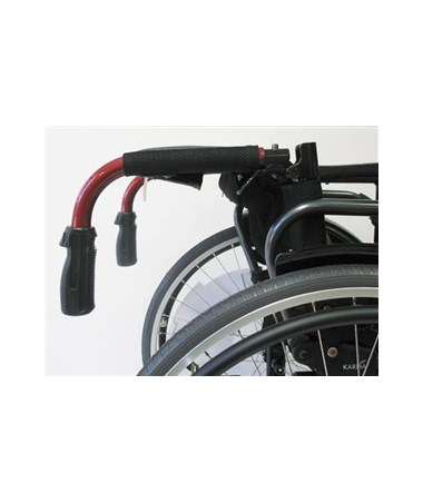 Karman S-Ergo Ultralightweight Wheelchair with Adjustable Seat Height - Handles