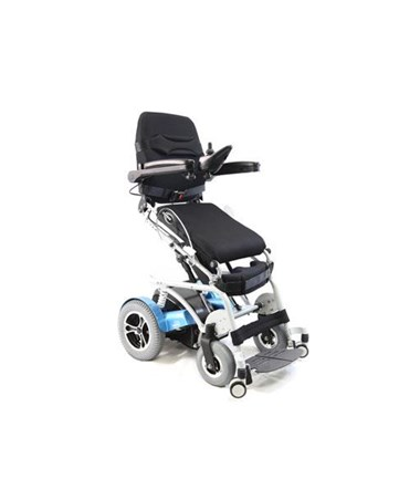Karman Power Stand Power Drive Wheelchair Raised Position