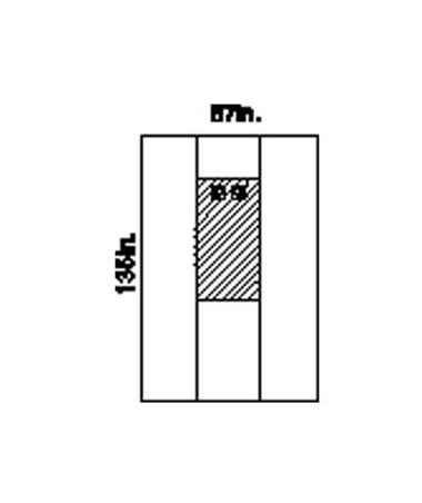 Femoral Angiography Drape, Dual Window, X-Long, Sterile KIM89711