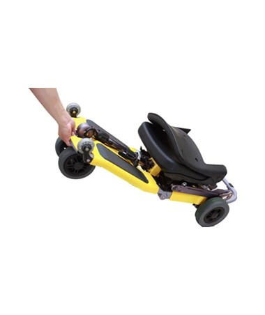 Luggie Portable Scooter - Folded Flat