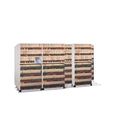 4-Post Kwik-Track TriSlider Filing 10 Units - 4/3/3 MAYEFPL367433-