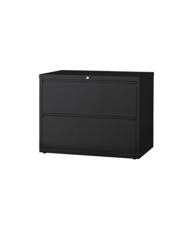 MAYHLT302- Lateral Files - 2 Drawer System - Black