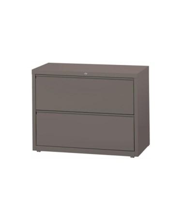 MAYHLT302- Lateral Files - 2 Drawer System - Medium Tone