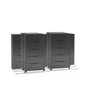 Lateral Files on Kwik-Track - 5 Drawers, Tri-Slider, 7 Units - 3/2/2 MAYLATH365322-