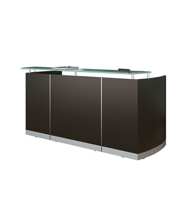 MAYMNRS- Medina™ Series Reception Station with Optional Return & Pedestals - Station with B/B/F & F/F Pedestals