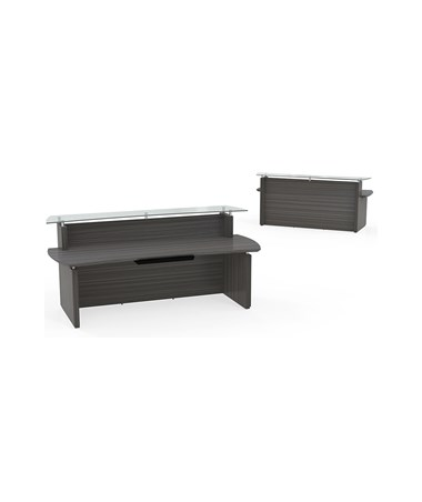 MAYSTRC72- Sterling™ Series Reception Station - Textured Driftwood