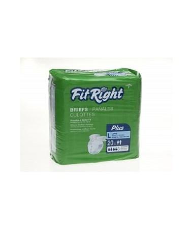 FitRight™ Plus Extra Large Adult Briefs MEDFITPLUSXLG