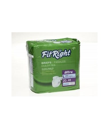 FitRight™ Ultra Size Medium Briefs MEDFITULTRAMDZ