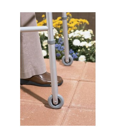 "3"" Wheels For Medline Walkers MEDG07730"