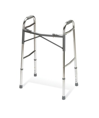 Youth Heavy-Duty Two Button Folding Walker MEDG07768