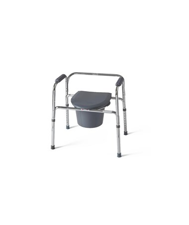 EZ Care 3-In-1 Steel Commode MEDG30211-4H-