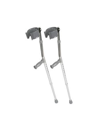 Medline Forearm Crutches MEDMDS805160