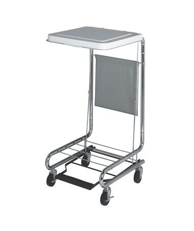 """18"""" Hamper Stand with Foot Pedal MEDMDS80529"""