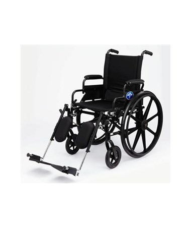 Medline MDS806570Extra Wide Light Weight Wheelchair