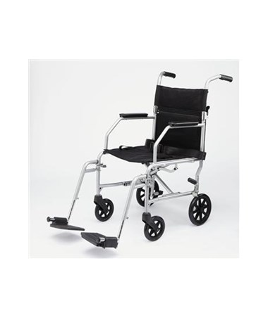 Medline MDS808200E Excel Basic Steel Transport Chair