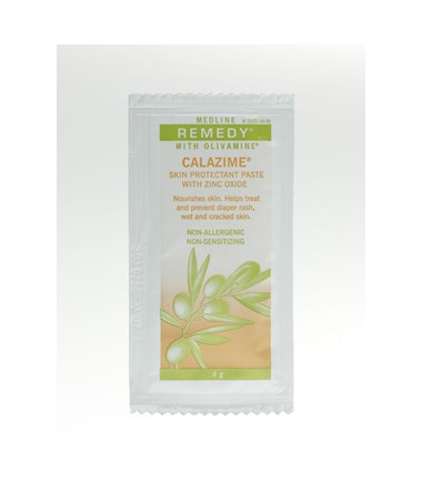 Remedy Olivamine Calazime Skin Protectant Paste Packs.