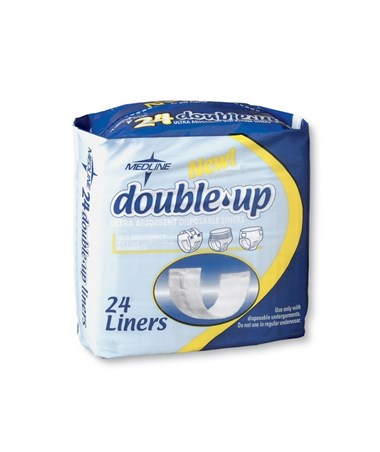 Medline Double Up Liners.