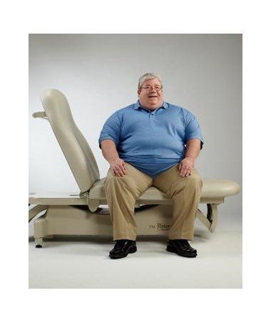 MID244-001 - 244 Bariatric Treatment Table - Patient Accomodation