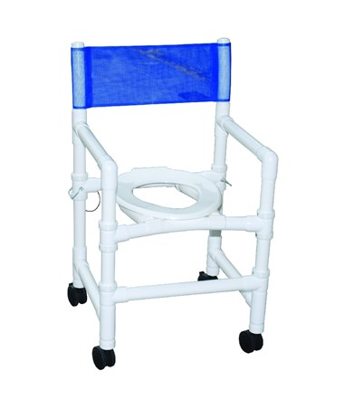Shower Commode with Folding Capacity MJM115-3-FD