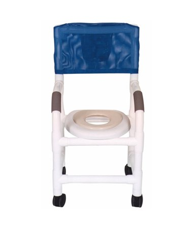 MJM 115-3TW-SSDE-RH Pediatric Shower Commode with Soft Seat