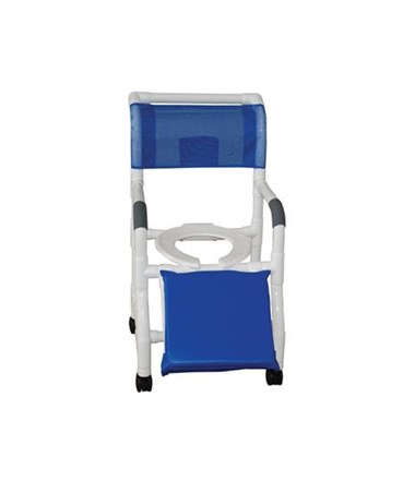 MJM 118-3-A  Below Knee Amputee Shower Commode Chair