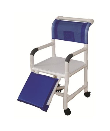 MJM 118-3-AF Amputee Flatstock Shower Chair