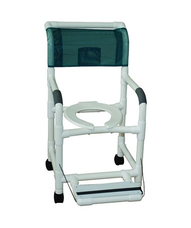 MJM118-3-FF Shower Chair with Folding Footrest