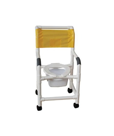 Shower Chair with Flip Open Seat MJM118-3-FLS-SQ-PAIL