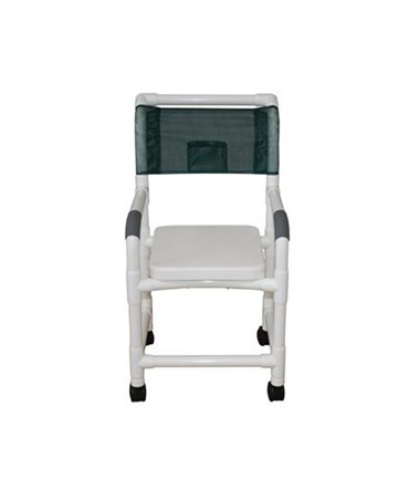 MJM 118-3-H-SSC High Backed Soft Seat Shower Chair