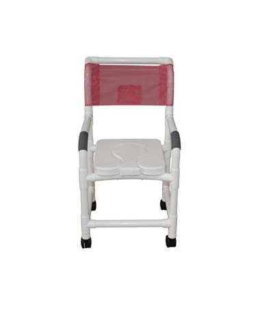 MJM118-3-SSDD Soft Seat Dual Usage Shower Chair with Removable Center