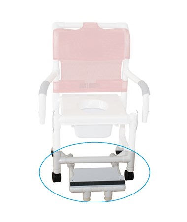 Optional Sliding footrest with front foot supports MJMSFS