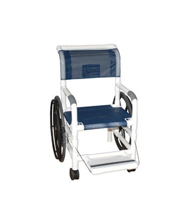 "MJM 130-15-24W-SL 15"" Self Propelled Aquatic Rehab Transport Chair"