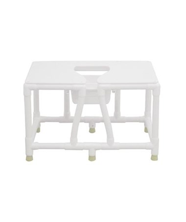MJM156-FSS-26 Bariatric Bedside Commode