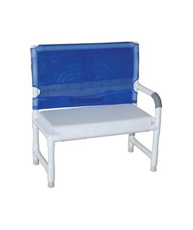 MJM160 High Back Shower Bench