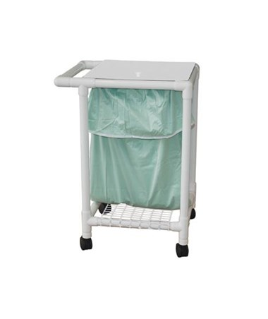 MJM 214-S-LP Single Hamper with Mesh Bag