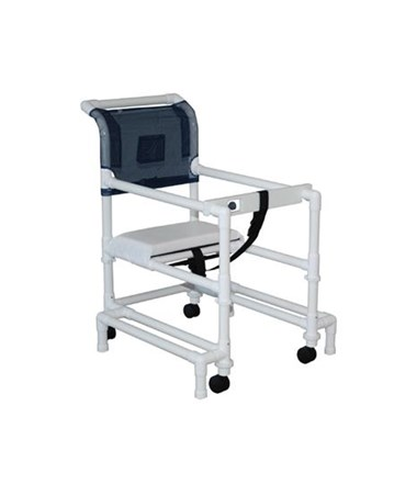 MJM 418-OR-3TW Height Adjustable Walker with Anti-tip Outriggers
