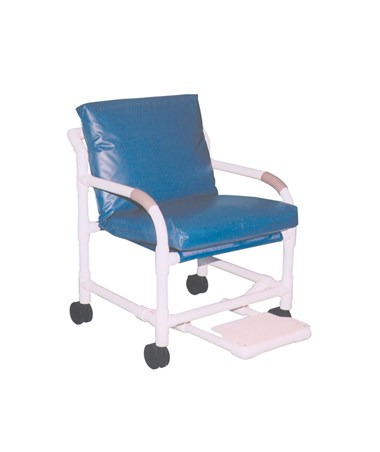 MJM 505-5-MRI Deluxe MRI Compatible Transfer Chair with Footrest