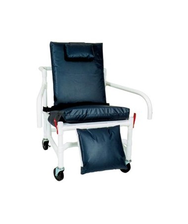 MJM 530-S-DDA Bariatric Reclining Geri Chair with Elevated Leg Rest and Drop Down Arms
