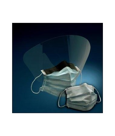 Earloop Surgical Mask With/Without Face Shield MMM1820-