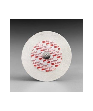 Red Dot™ Monitoring Electrodes with Micropore™ Tape Backing, Case MMM2239